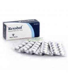 Alpha Pharma Rexobol 50 - Winstrol, Stanozolol