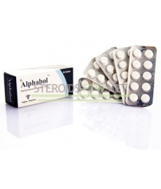 Alphabol (BeatriceT, Dianabol) 10mg Alpha Pharma