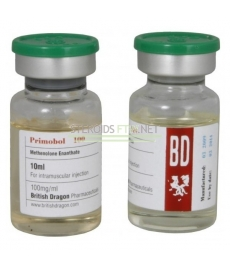 Decabol 250 British Dragon, 10 ml (Nandrolone décanoate) 250 mg/ml