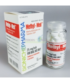 Methyl-Med Bioniche Pharma (Methyltestosterone) 60tabs (25mg/tab)