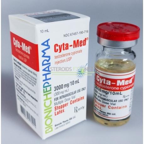 Cyta-Med Bioniche farmacia (Testosterone Cypionate) da 10ml (300mg/ml)