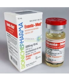 Enanta Med Bioniche Pharmacy (Testosteroni Enanthate) 10ml (300mg/ml)