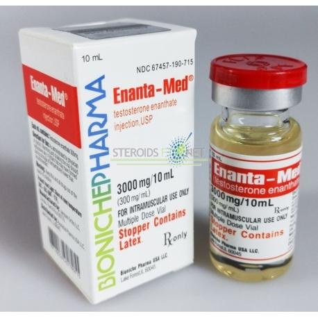 Enanta-Med Bioniche apotek (testosteron Enanthate) 10ml (300mg/ml)