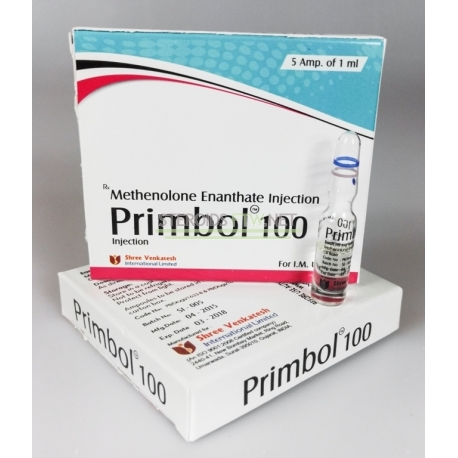 Primobol 100 Shree Rasmus (Primobolan Injection)