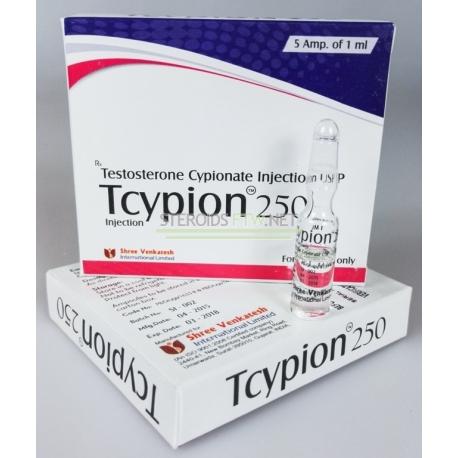 Tcypion 250 Shree Rasmus (Testosteron Cypionate injektion USP)