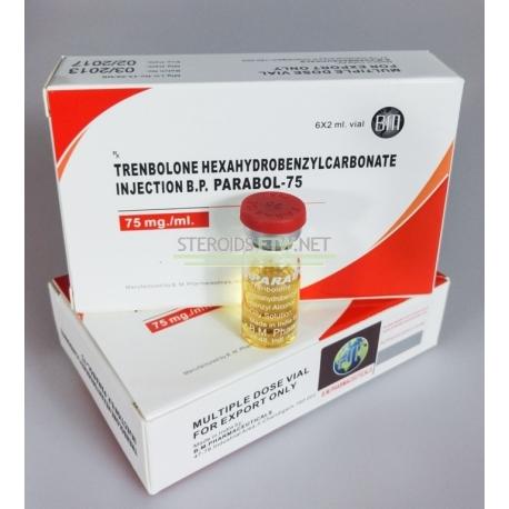 Parabol 75 BM Pharmaceuticals (trenbolon Hexa) 12ML (6X2ML hætteglas)