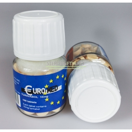 Turinabol 10mg Euromed, 100 tablets (10mg/tab)