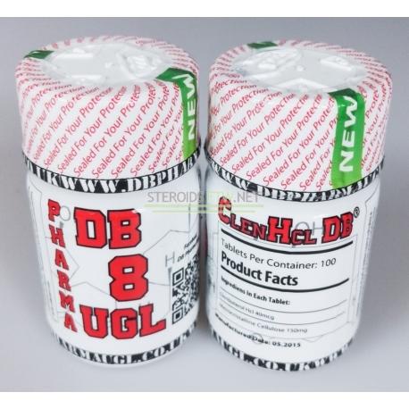 Clenbuterol HCL DB Pharma 100tabs (40 mikrogramm / lap)