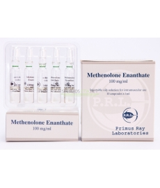 Methenolone Enanthate Primus Ray Labs 10X1ML [100mg/ml]