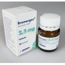Bromergon (Bromocriptine mesylate) Sandoz 30tabs [2.5mg/tab]