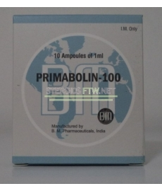 Primabolin 100 BM Pharmaceuticals (Methenolone Enanthate) 10ML [10X1ML/100mg]