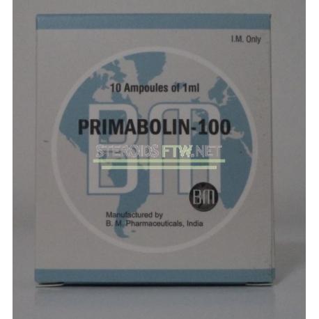 """Primabolin 100 BM Pharmaceuticals"" (methenolone enanthate) 10ML [10X1ML / 100 mg]"