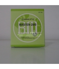 Masten 200 (Drostanolon Enanthate) BM Pharmaceutical 10 ml [10 × 1 ml / 200 mg]