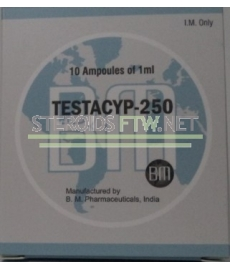Testacyp-250 BM Pharmaceutical 10ml [10X1ML / 250 mg]