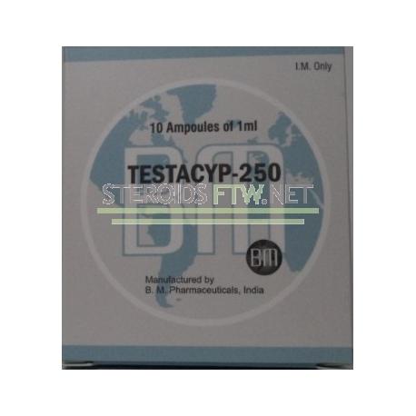 Testacyp-250 BM Pharmaceutical 10ml [10X1ML / 250 mg]