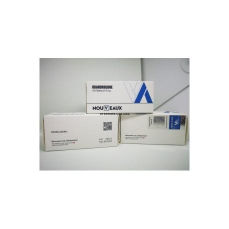 OXANDROLONE [ANAVAR] NOUVEAUX 100 TABLETOK [10MG / TAB]