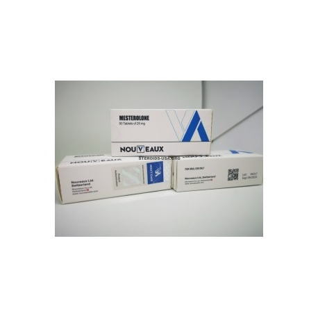 MESTEROLONE [PROVIRON] NOUVEAUX LTD 50 TABLETTEN VON 25 mg