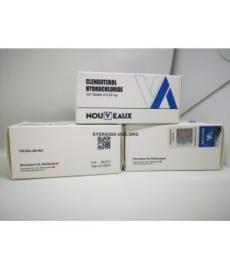 CLENBUTEROL NOUVEAUX LTD 100 0,04 mg: n taulukkoa