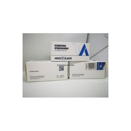 CLENBUTEROL NOUVEAUX LTD 100 0,04 MG-os tabletta