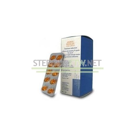Andriol (Restandol, testosteron undecanoate) Organon 60 caps (40 mg/fane)